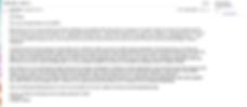 testimonial mail mireille voor BATC juli