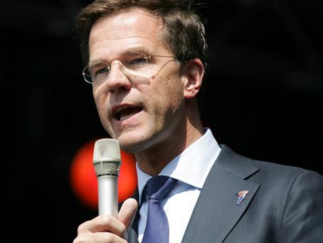 Val van het kabinet Rutte III