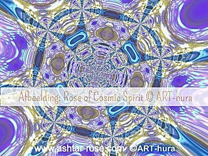 Rose of Cosmic Spirit © Arthura Hector www.ashtar-rose.com