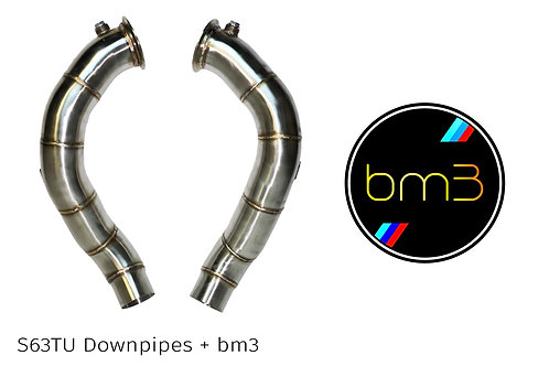 BMW F10 | f06 | f12  S63TU Downpipe and Bootmod3 Package