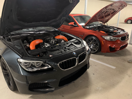 bmw f06 f80 project gamma intakes