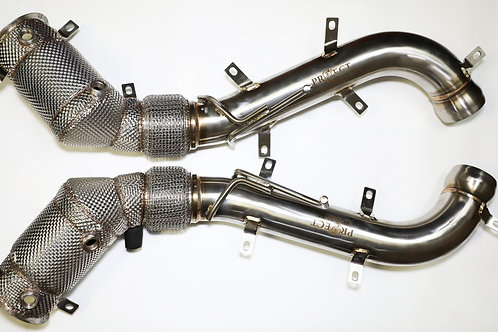 Mclaren 600LT Stainless Steel Catless Downpipes