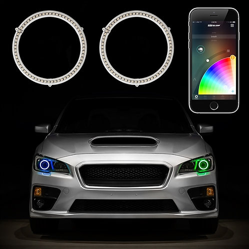 RGB Switchback Halo Kit - Smartphone App-enabled Bluetooth Multi-Color