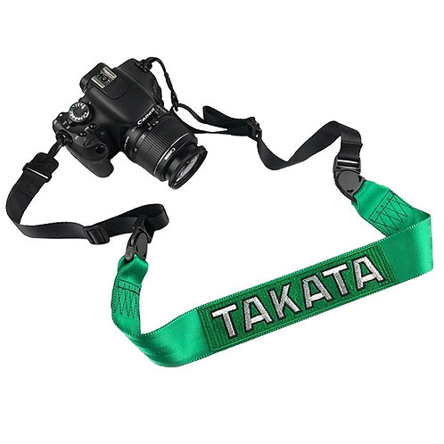 TAKATA RACING GREEN CAMERA STRAP