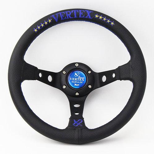 """320 mm ( 13"""" ) Steering Wheel Racing """" 10 Star """" B/BU"""