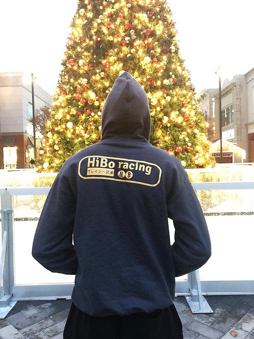 HiBo Racing Hoodie ( Dark grey )