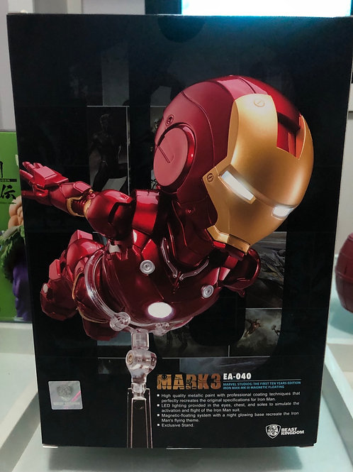 Egg Attack EA-040 Iron Man 3 Mark 3 Magnetic Floating Marvel The First 10 Year