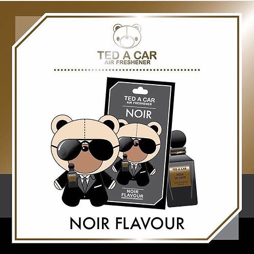 TED A CAR NOIR
