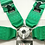 "Thumbnail: Takata 4-Point 3"" Racing Seat Belt Harness"