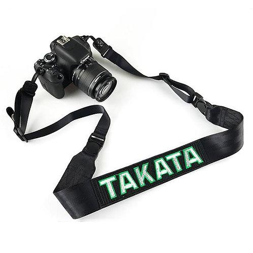 TAKATA RACING BLACK CAMERA STRAP