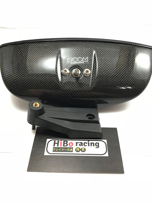 ZOOM ENGINEERING CARBON OVAL REAR VIEW MIRROR