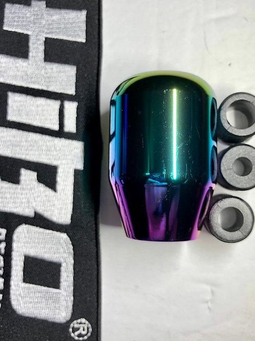 Universal Gear Shift Knob Shifter Aluminum Burnt Blue V2