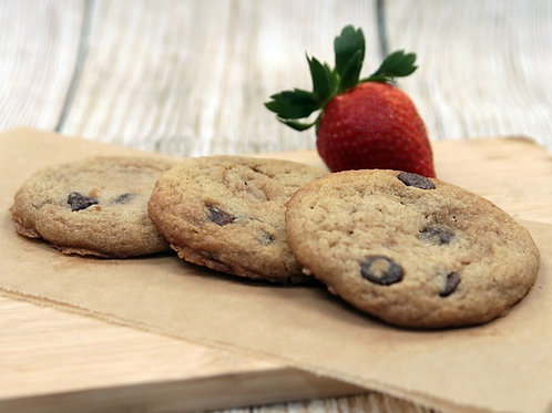 Vegan Mexican Chocolate Chip Cookies