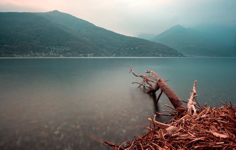 Stille über dem Lago Maggiore