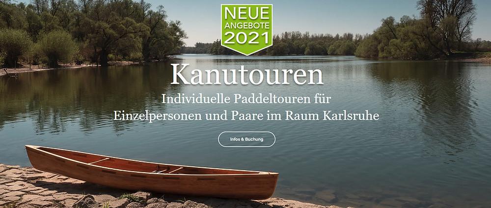 Kanutour Padeltour Karlsruhe Altrhein Rhein Paddeln Kanufahren