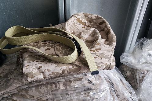 Camel Colored Combat Fatigue Pants/hat/belt