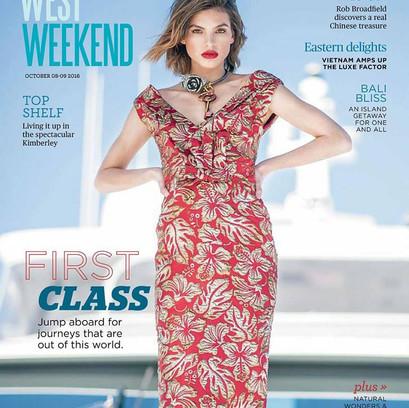 West Weekend Cover Shoot | Model: Ruth Willmer | Photographer: Iain Gillespie | Styling: Emma Bergmeier-Varian