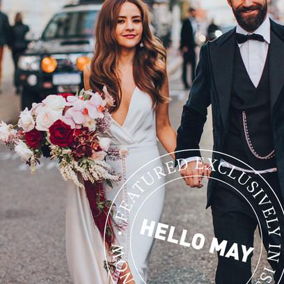 Wedding | B&G: Angie & Chris | Hair: Penny & Peach | Photographer: Keeper Creative | Flowers: Natural Art Flowers