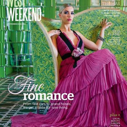 West Weekend Cover Shoot | Model: Madeleine Mitchell| Photographer: Rob Duncan | Styling: Emma Bergmeier-Varian