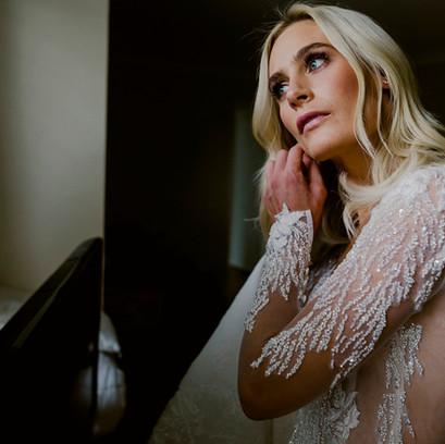 Wedding | Bride: Sarah Matthews | Hair: Salon Jaimme Lee | Photographer: Jenna Mason