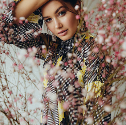 West Weekend | Model: Caris Tiivel | Photographer: Michael Wilson | Styling: Clare Ryan