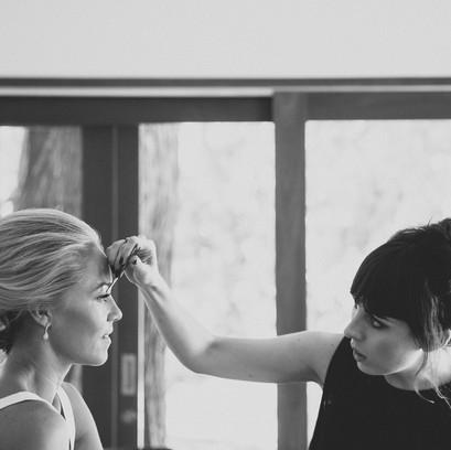 Wedding - behind the scenes | Jacqui & Kim (Bride)