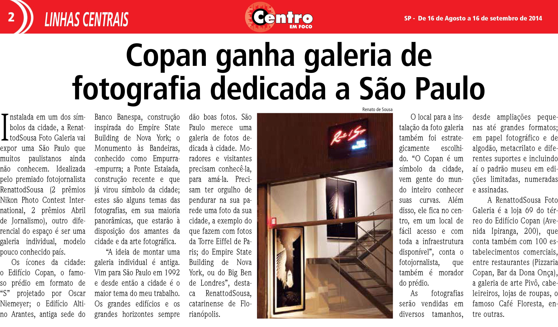 Jornal Centro Em Foco