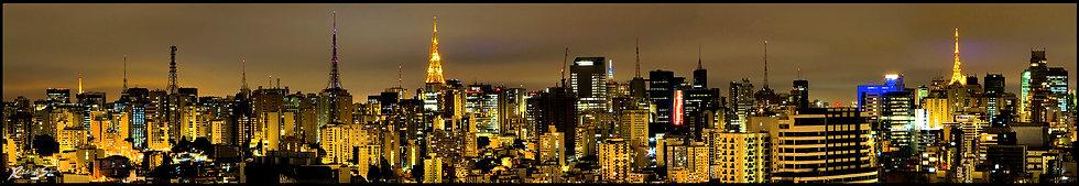 Skyline Paulista Lado Norte cor