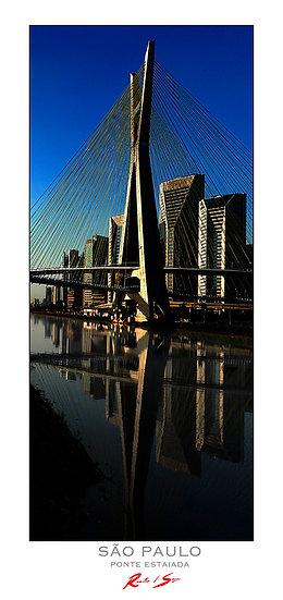 Pôster Ponte Estaiada cor