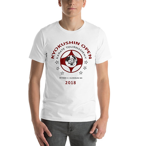 Tournament Unisex T-Shirt | White