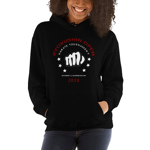 Tournament Unisex Hoodie | Black