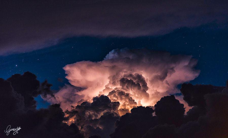 temporale e stelle