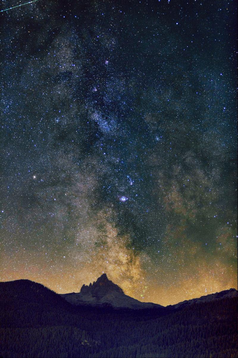 il nucleo della Via Lattea