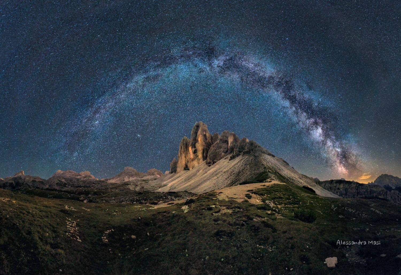 l'arco della Via Lattea