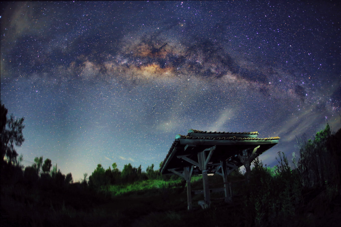 Via Lattea - centro galattico