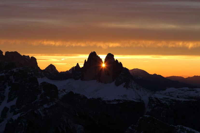 L'alba del solstizio d'inverno