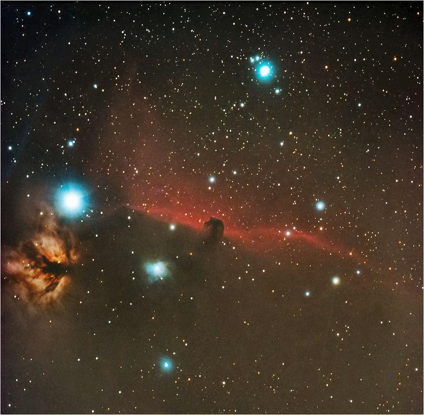 nebulose in Orione