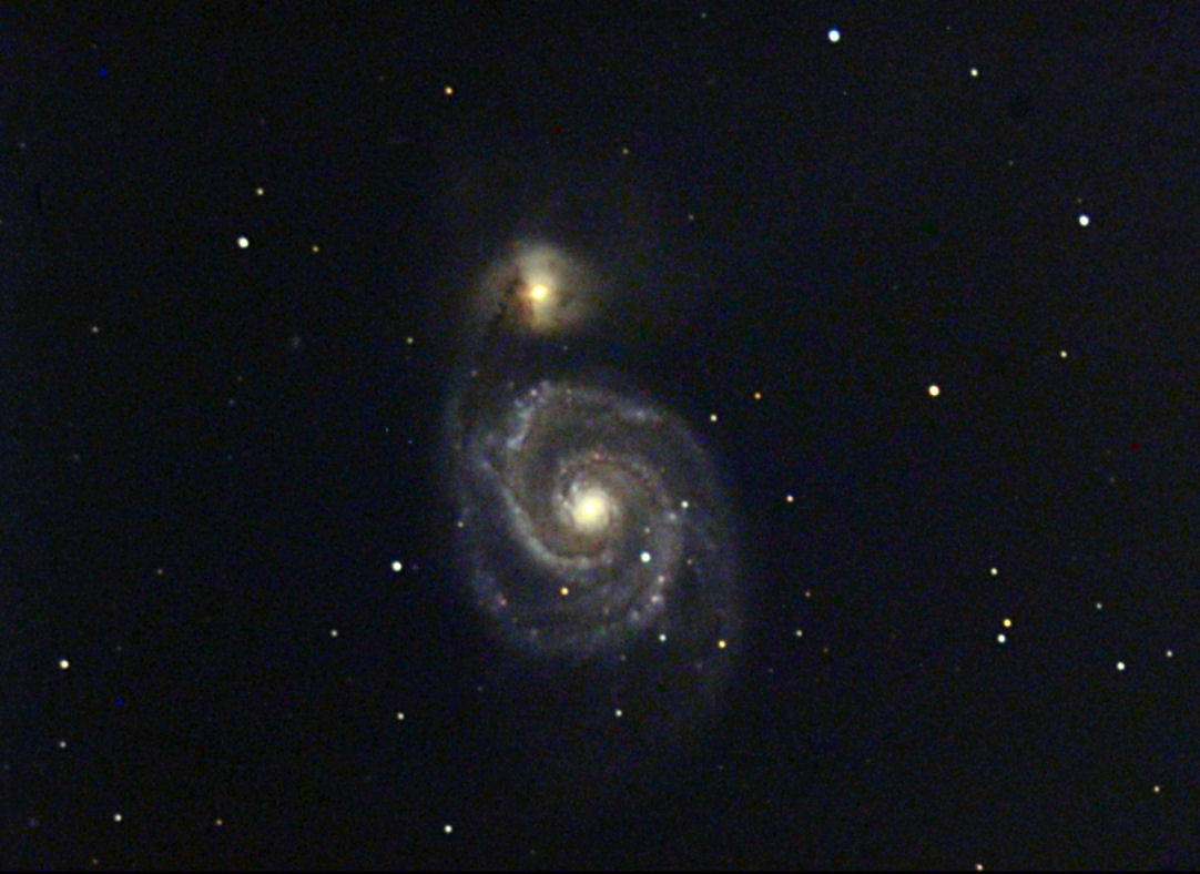 Messier 51 Whirlpool Galaxy