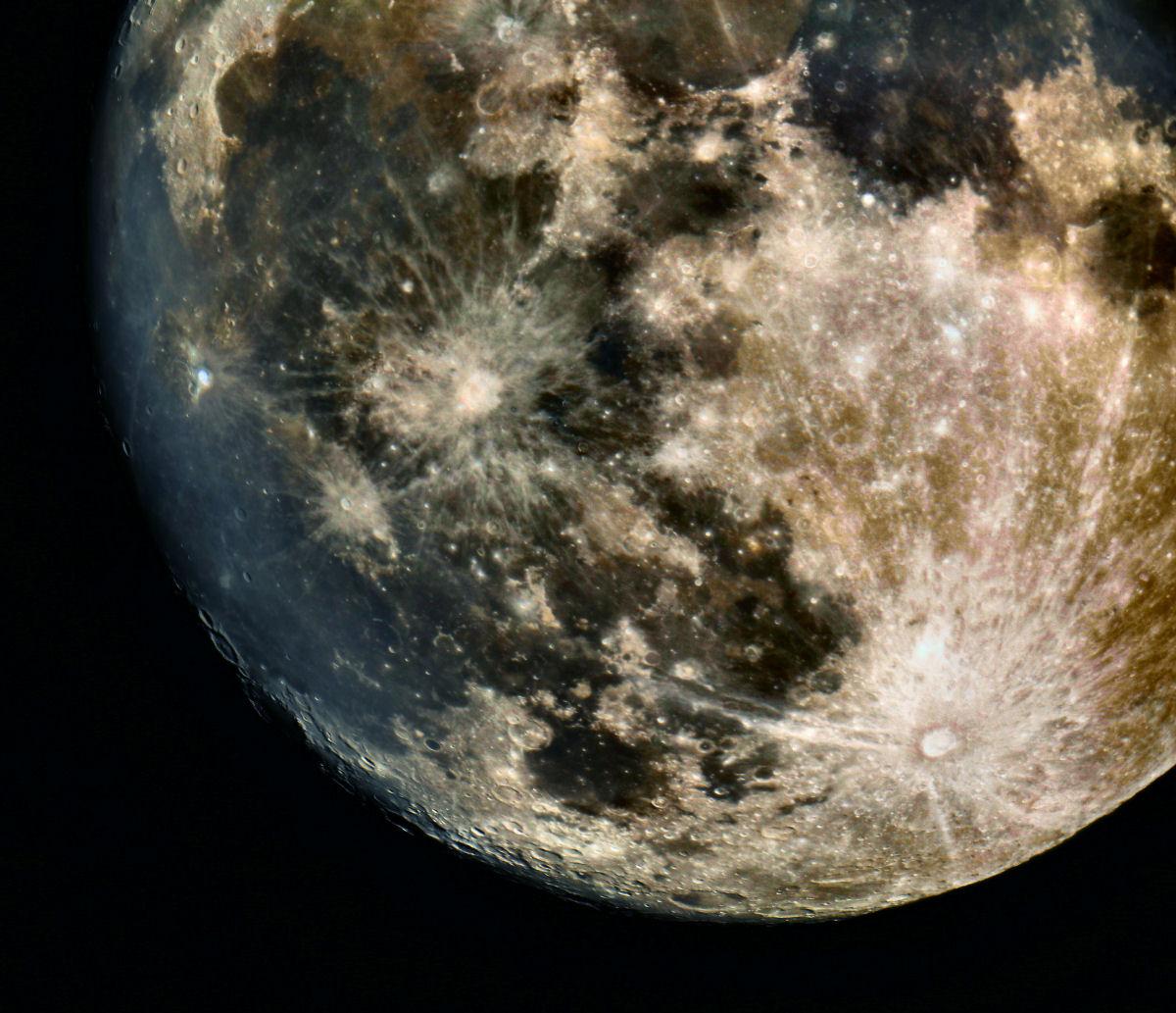 Luna, settore sud-est