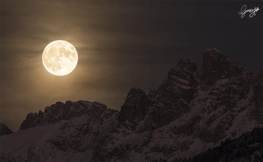 la Superluna di novembre