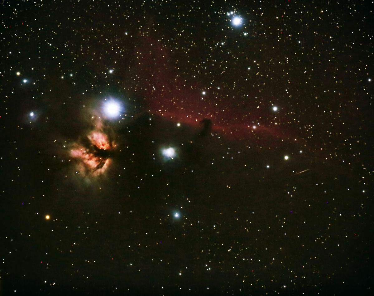 complesso nebulare vicino Zeta Ori