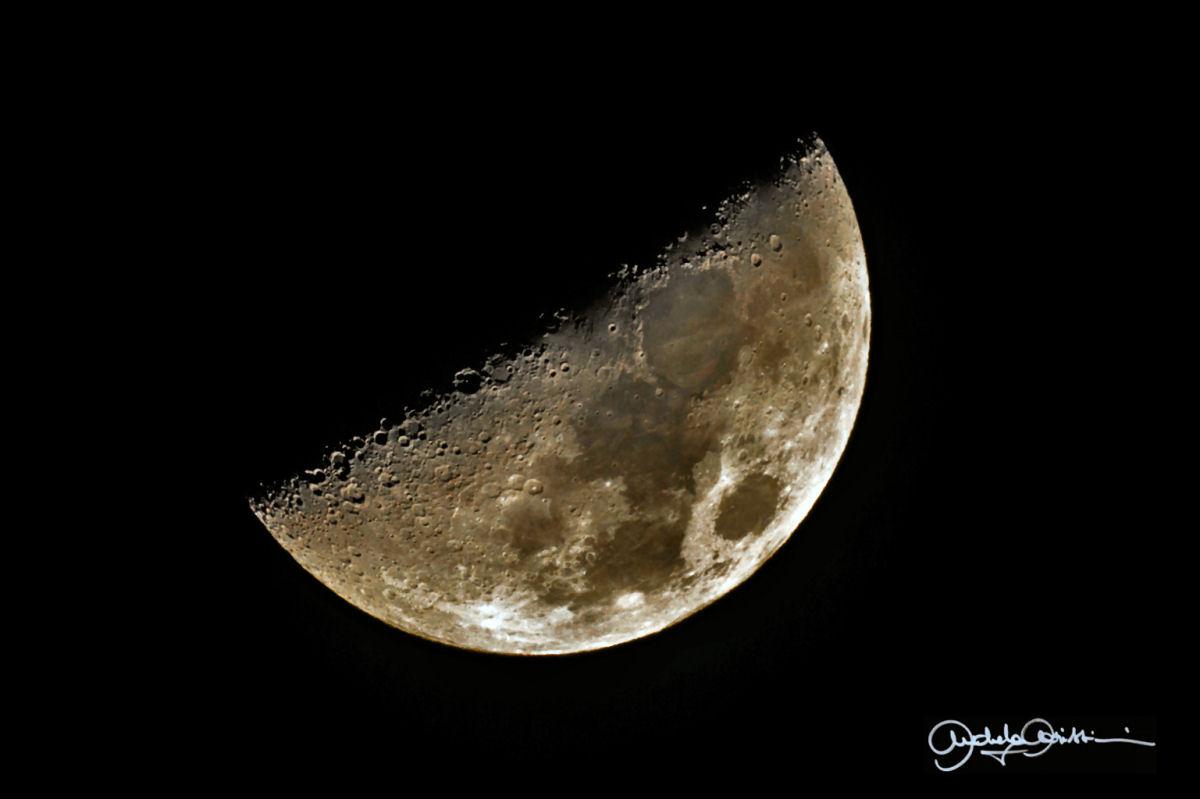 il primo quarto di luna