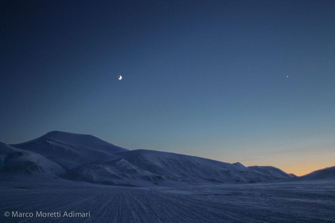 tramonto polare