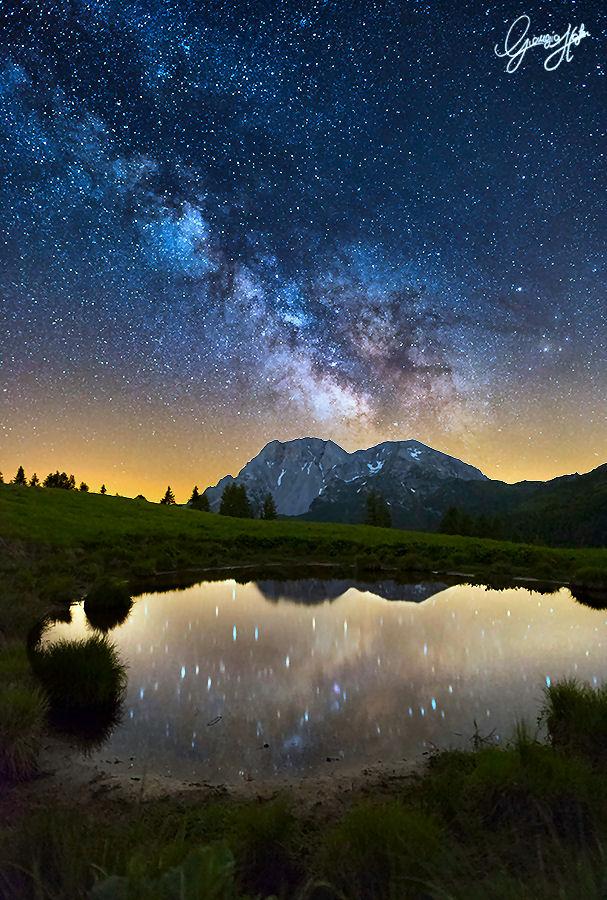 riflessi della Via Lattea