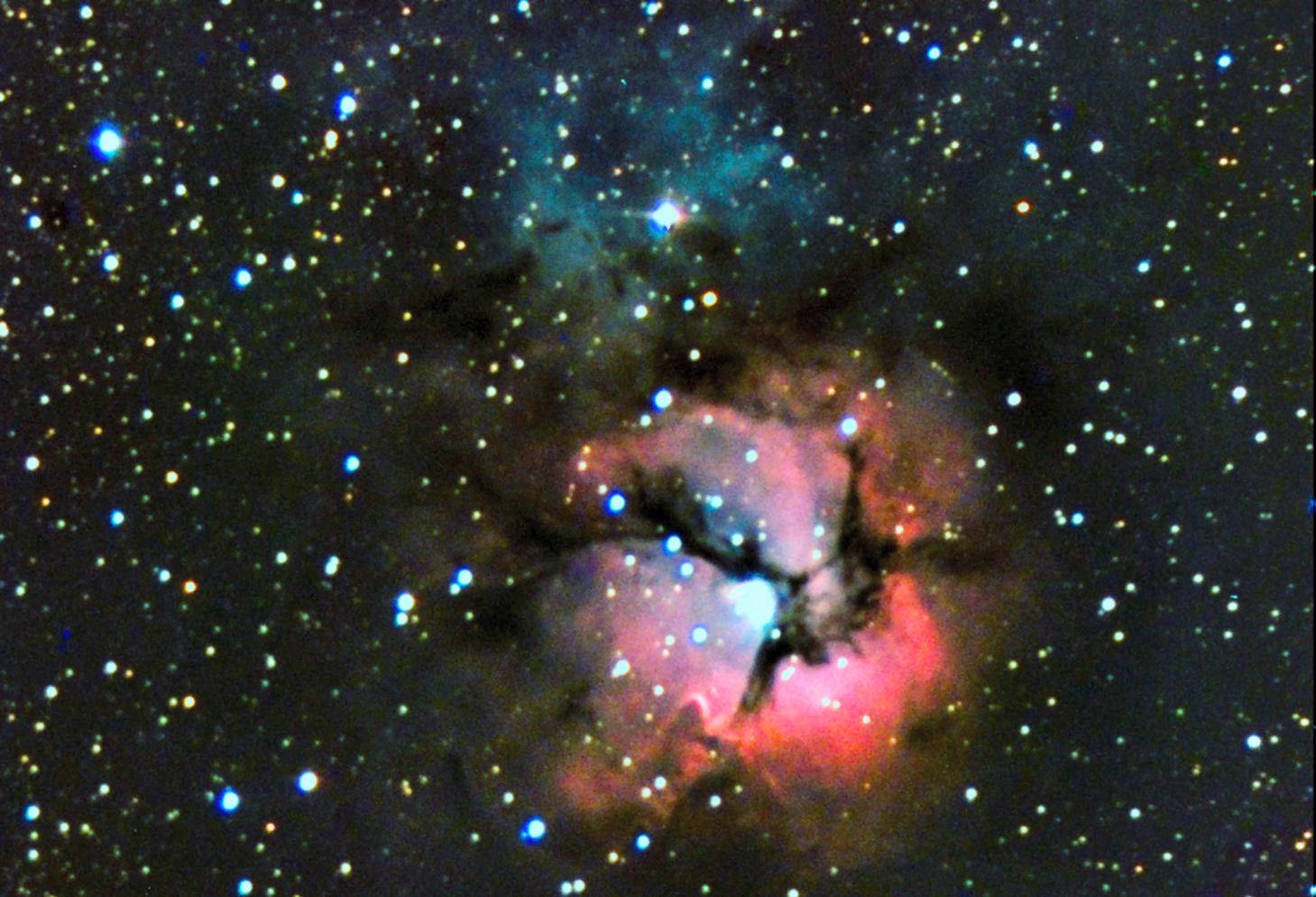 Messier 20 - Trifida nebula
