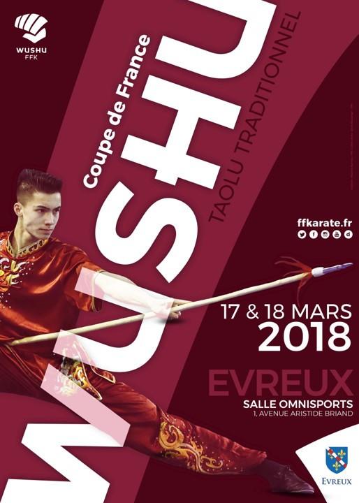 Le Pôle de Thérapeutes à la Coupe de France de Kung Fu 2018 (Tao Lu Traditionnel)