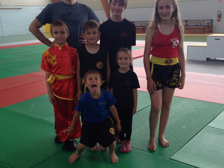 Compétition Interclubs de Kung Fu au Neubourg : Le Pôle de Thérapeutes y était