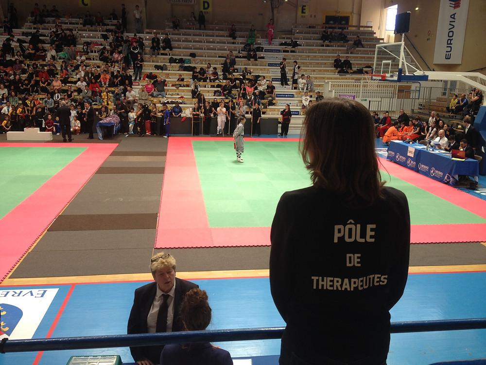 Le Pôle de Thérapeutes dans la Coupe de France de Kung Fu 2017