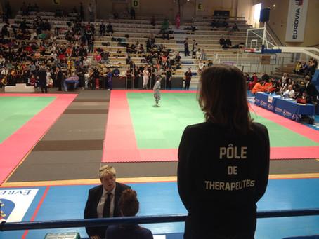 La Coupe de France de Kung Fu a accueilli le Pôle de Thérapeutes