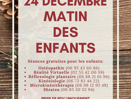 24 Décembre : MATIN DES ENFANTS